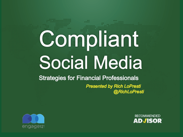 Compliant Social Media Strategies for Financial Professionals