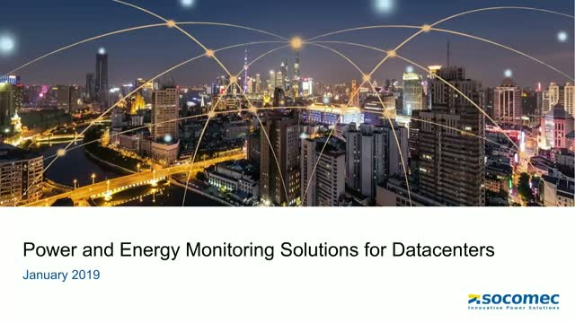 Power and Energy Monitoring Solutions for Datacenters