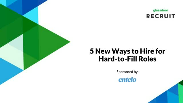 5 Ways to Hire for Hard-to-Fill Roles
