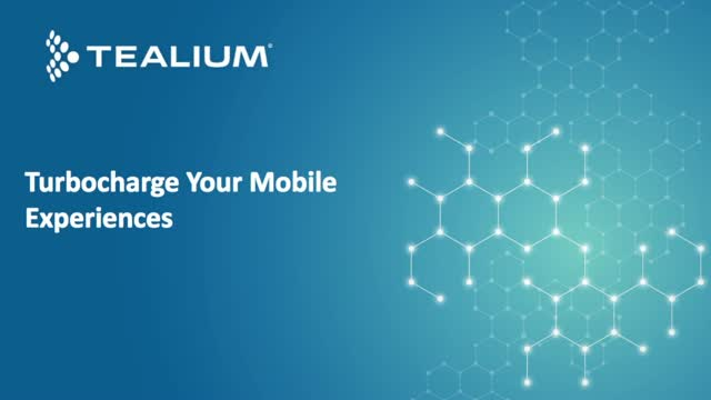 Turbocharge Your Mobile Experiences