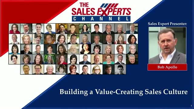 Building a Value-Creating Sales Culture