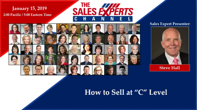 """How to Sell at """"C"""" Level"""
