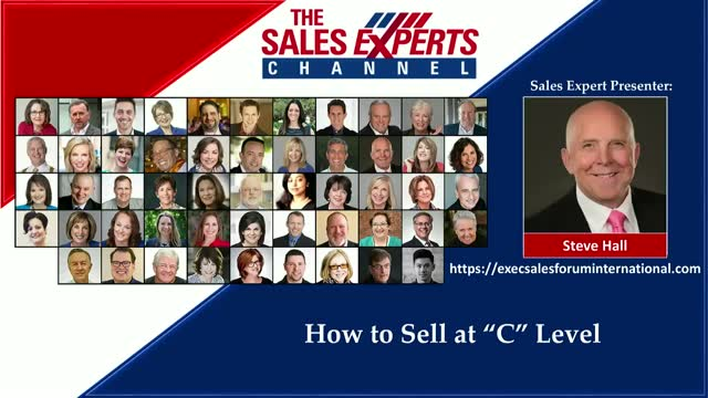 "How to Sell at ""C"" Level"