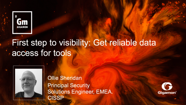 First step to visibility: Get reliable data access for tools