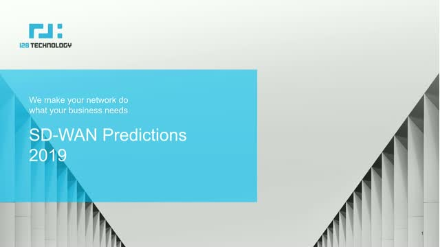SD-WAN Predictions for 2019