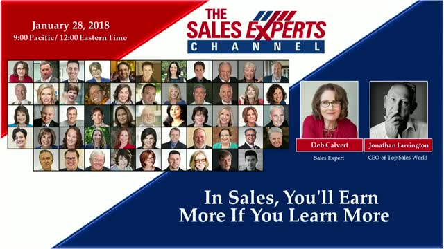 In Sales, You'll Earn More If You Learn More