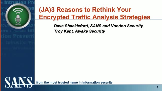 (JA)3 Reasons to Rethink Your Encrypted Traffic Analysis Strategies