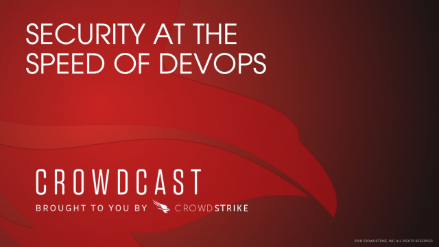 Security at the speed of DevOps
