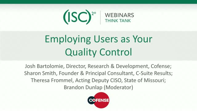 Employing Users as Your Quality Control
