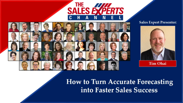 How to Turn Accurate Forecasting into Faster Sales Success