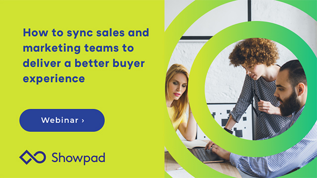 How to sync sales and marketing teams to deliver a better buyer experience