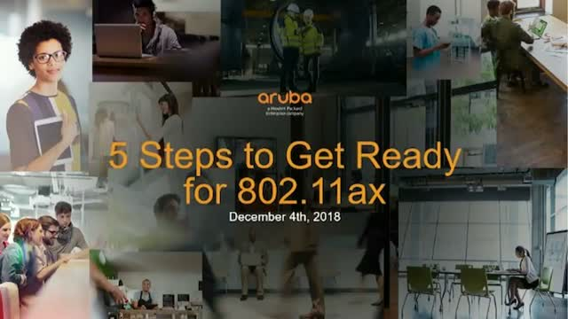 5 Steps to Get Ready for 802.11ax