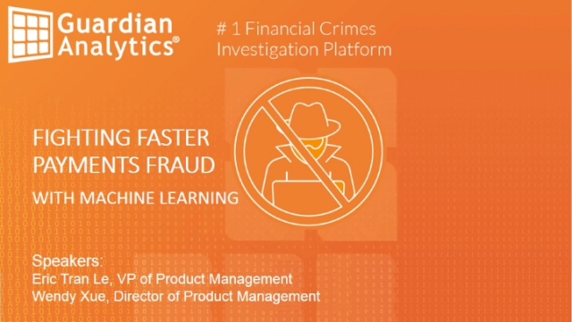 Fighting Faster Payments Fraud With Machine Learning
