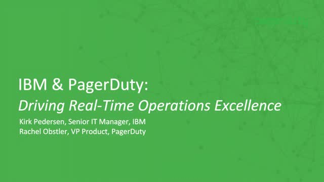 Understanding How to Drive Real-Time Operations Excellence