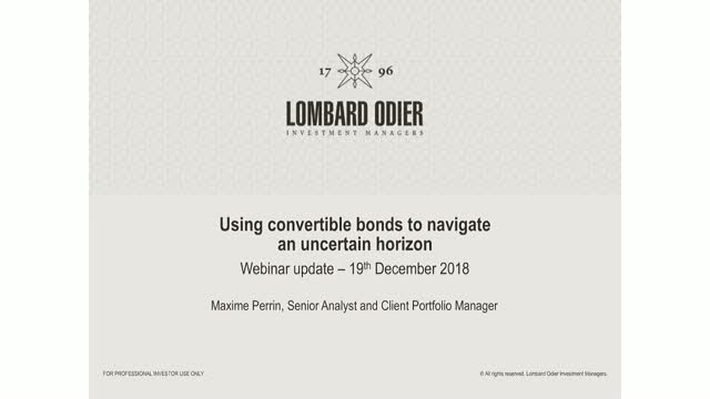 Using convertible bonds to navigate an uncertain horizon