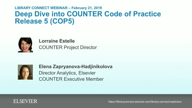 Deep Dive into COUNTER Code of Practice Release 5