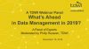 What's Ahead in Data Management in 2019?