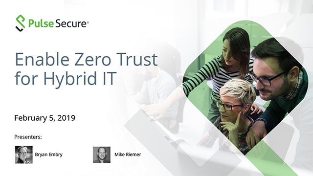 Enable True Zero Trust for Hybrid IT