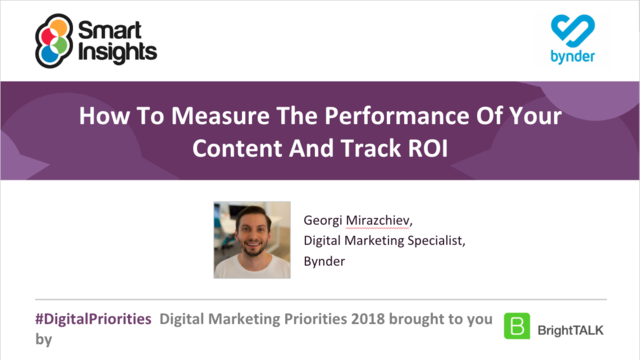 How To Measure The Performance Of Your Content And Track ROI