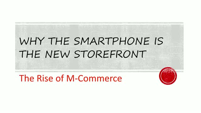 The Rise of M-Commerce: Why the Smartphone is the New Storefront