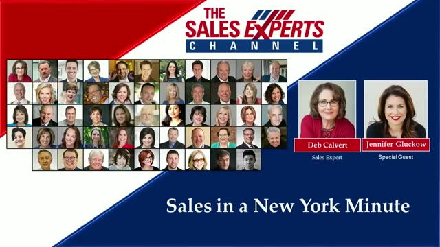 Sales in a New York Minute