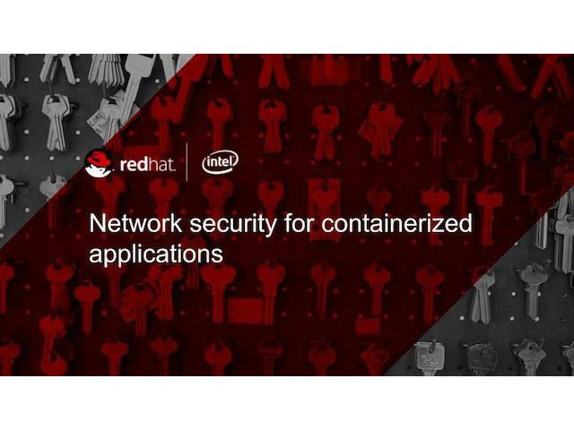 Network Security for Containerized Applications