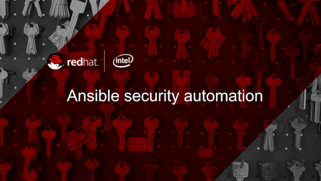 Ansible Security Automation
