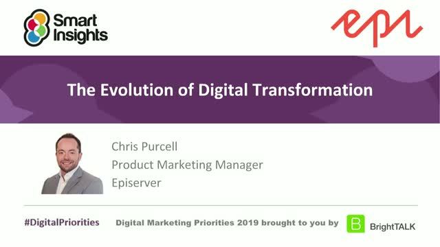 The Evolution of Digital Transformation