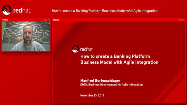 How to create a Banking Platform Business Model with Agile Integration