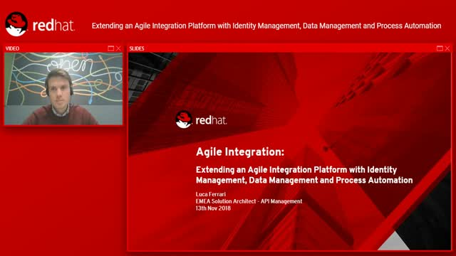 Extending Agile Integration Platform w/ Identity/Data Mgmt & Process Automation