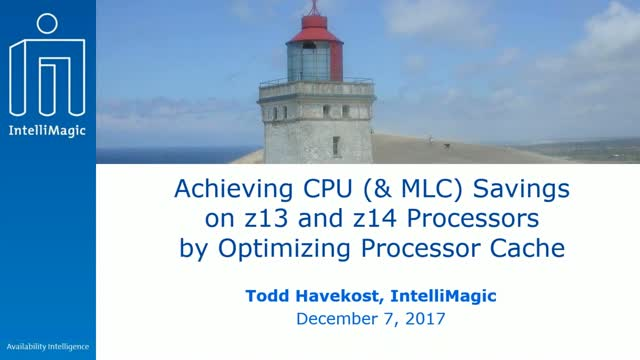 Achieving CPU (& MLC) Savings on z13 and z14 Processors by Optimizing Processor