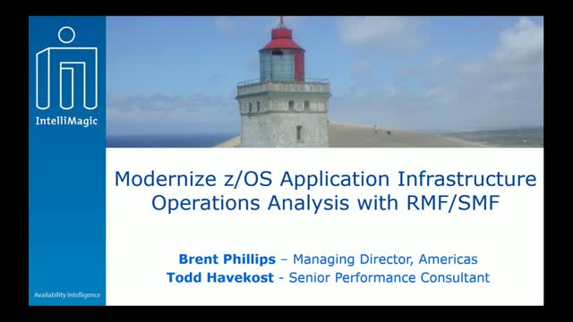 Modernize z/OS Application Infrastructure Operations Analysis with RMF/SMF