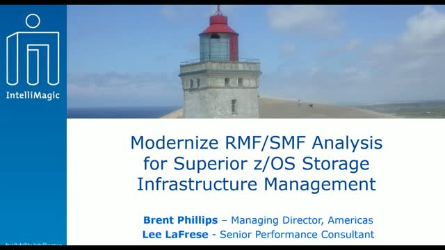 Modernize RMF/SMF Analysis for Superior z/OS Storage Infrastructure Management