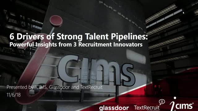 6 Drivers of a Strong Talent Pipeline