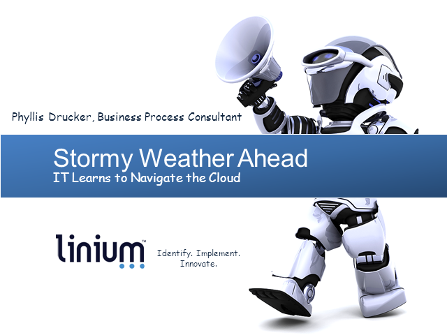 Stormy Weather Ahead: IT Learns to Navigate the Cloud