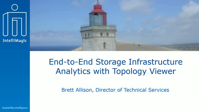 End-to-End Storage Infrastructure Analytics with Topology Viewer