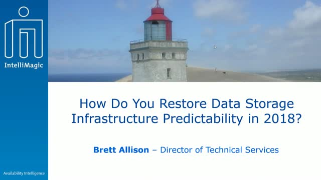 Strategies for SAN Data Storage Infrastructure Predictability in 2018