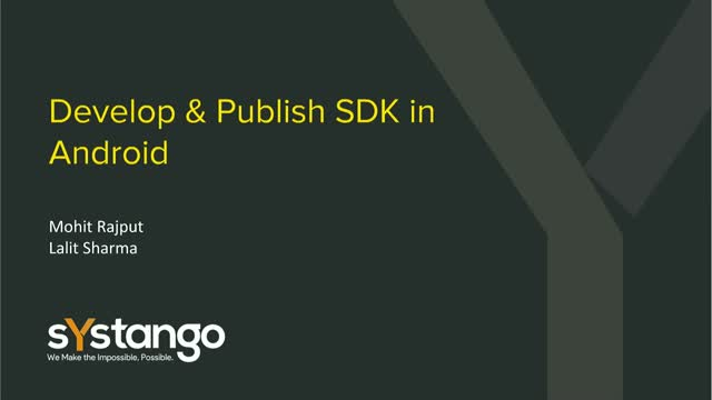 Getting Started with Android SDK Development