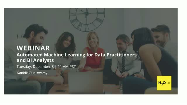 Automated Machine Learning for Data Practitioners and BI Analysts