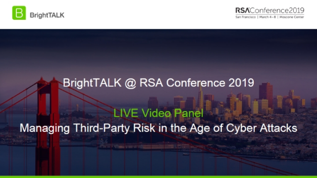 Managing Third-Party Risk in the Age of Cyber Attacks