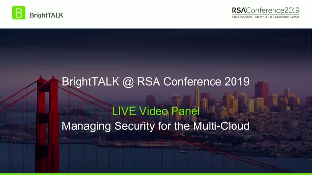 Managing Security for the Multi-Cloud