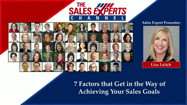7 Factors that Get in the Way of Achieving Your Sales Goals