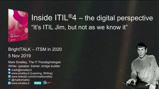 Inside ITIL® 4 – the Digital Perspective