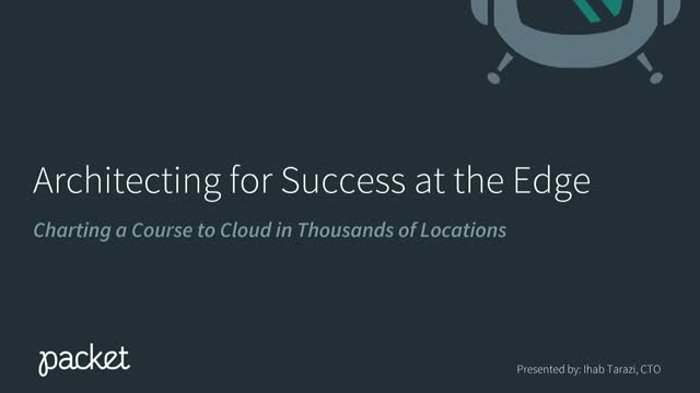 Edge Strategy - Charting a Course to Cloud in 10,000 Locations