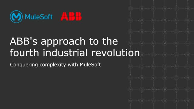 ABB's approach to the fourth industrial revolution: conquering complexity with M