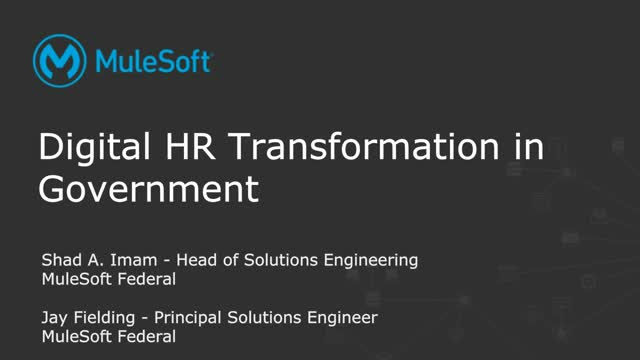 Modernizing HR systems in government