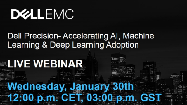 Dell Precision- Accelerating AI, Machine Learning & Deep Learning Adoption