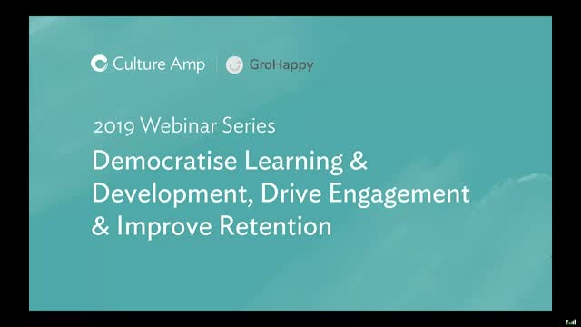 Democratise L&D, drive engagement & improve retention