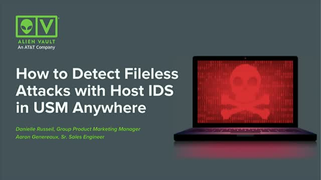 How to Detect Fileless Attacks with Host-Based IDS in USM Anywhere