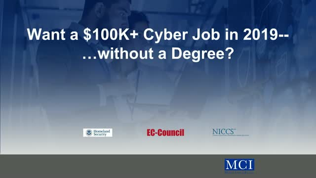How to get a $100K+ Cloud Job in 2019 without a degree